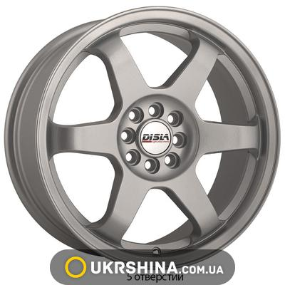 Литые диски Disla JDM 719 W7.5 R17 PCD5x100/114.3 ET42 DIA72.6 S