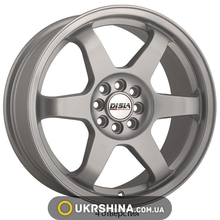 Литые диски Disla JDM 719 W7.5 R17 PCD4x100 ET40 DIA72.6 S