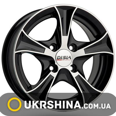 Литые диски Disla Luxury 406 W6 R14 PCD4x108 ET37 DIA67.1 BD