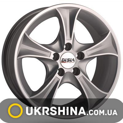 Литые диски Disla Luxury 406 W6 R14 PCD5x100 ET37 DIA57.1 SD