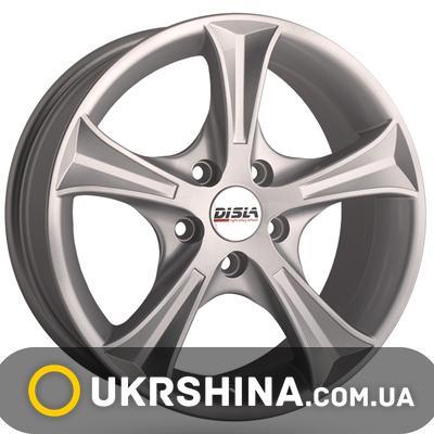 Литые диски Disla Luxury 406 W6 R14 PCD5x100 ET37 DIA57.1 S