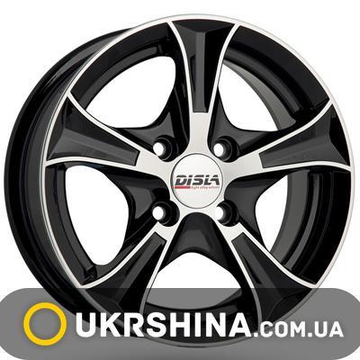 Литые диски Disla Luxury 306 W5.5 R13 PCD4x98 ET30 DIA67.1 BD