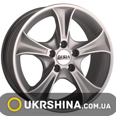 Литые диски Disla Luxury 606 W7 R16 PCD5x112 ET38 DIA66.6 SD