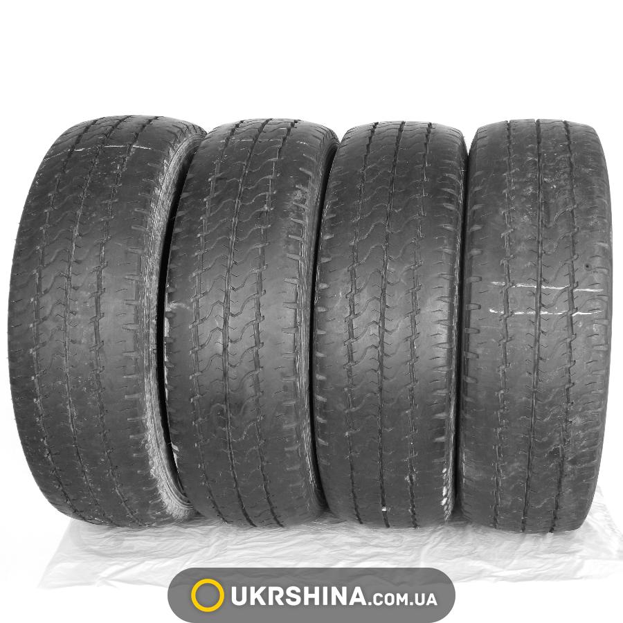 Летние бу шины Dunlop Econodrive 225/65 R16C 112/110R (Таиланд, 2013, протектор 5,5-6 мм)