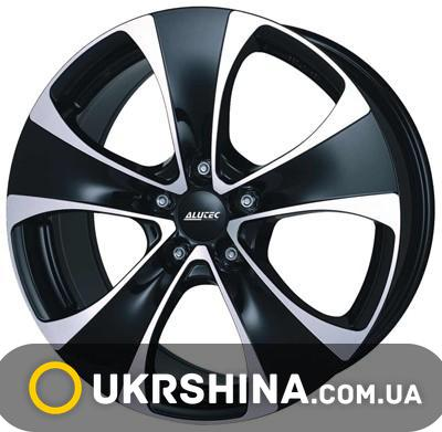 Литые диски Alutec Dynamite W8.5 R18 PCD5x139.7 ET45 DIA95.3 diamond black front polished
