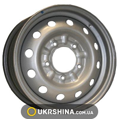 Стальные диски Евродиск 64G48L W6 R15 PCD5x139.7 ET48 DIA98.6 silver