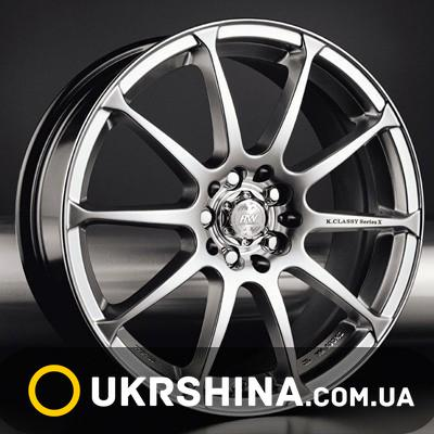 Литые диски Racing Wheels H-158 HS W6.5 R15 PCD4x114.3 ET45 DIA67.1