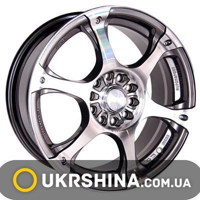 Литые диски Racing Wheels H-245 W7 R17 PCD5x108 ET40 DIA73.1 GM/FP