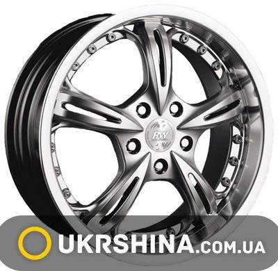 Литые диски Racing Wheels H-255 W7 R17 PCD5x112 ET0 DIA73.1