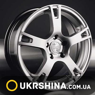 Литые диски Racing Wheels H-335 BK-PBL/FP W8 R18 PCD5x114.3 ET45 DIA73.1