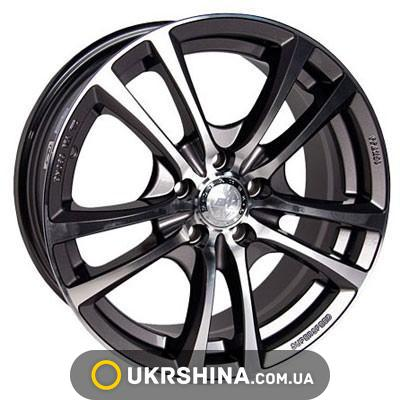 Литые диски Racing Wheels H-346 GM/FP W6.5 R15 PCD5x114.3 ET40