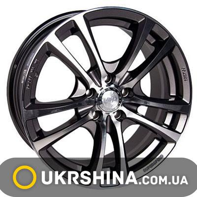 Литые диски Racing Wheels H-346 GM-F/P W7 R16 PCD4x114.3 ET40 DIA67.1