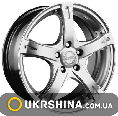 Литые диски Racing Wheels H-366 W6.5 R15 PCD5x112 ET40 DIA66.6 BK-F/P