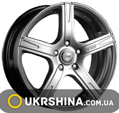 Литые диски Racing Wheels H-372 W6.5 R15 PCD5x112 ET40 DIA66.6 BK-F/P