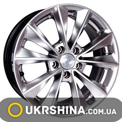 Литые диски Racing Wheels H-393 chrome W7.5 R17 PCD5x112 ET37 DIA73.1