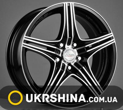 Литые диски Racing Wheels H-464 BK-F/P W7 R16 PCD5x114.3 ET40 DIA67.1
