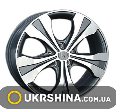 Литые диски Replay Honda (H40) W6.5 R17 PCD5x114.3 ET50 DIA64.1 BKF