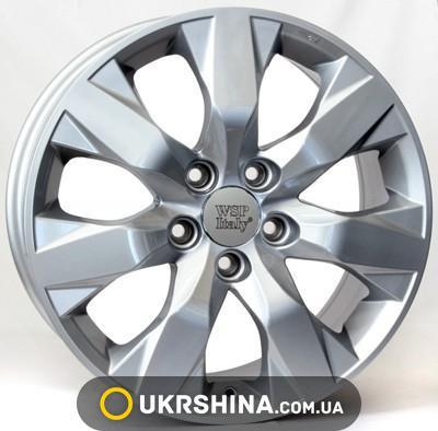 Литые диски WSP Italy Honda (W2407) Hamada W7.5 R17 PCD5x114.3 ET45 DIA64.1 silver