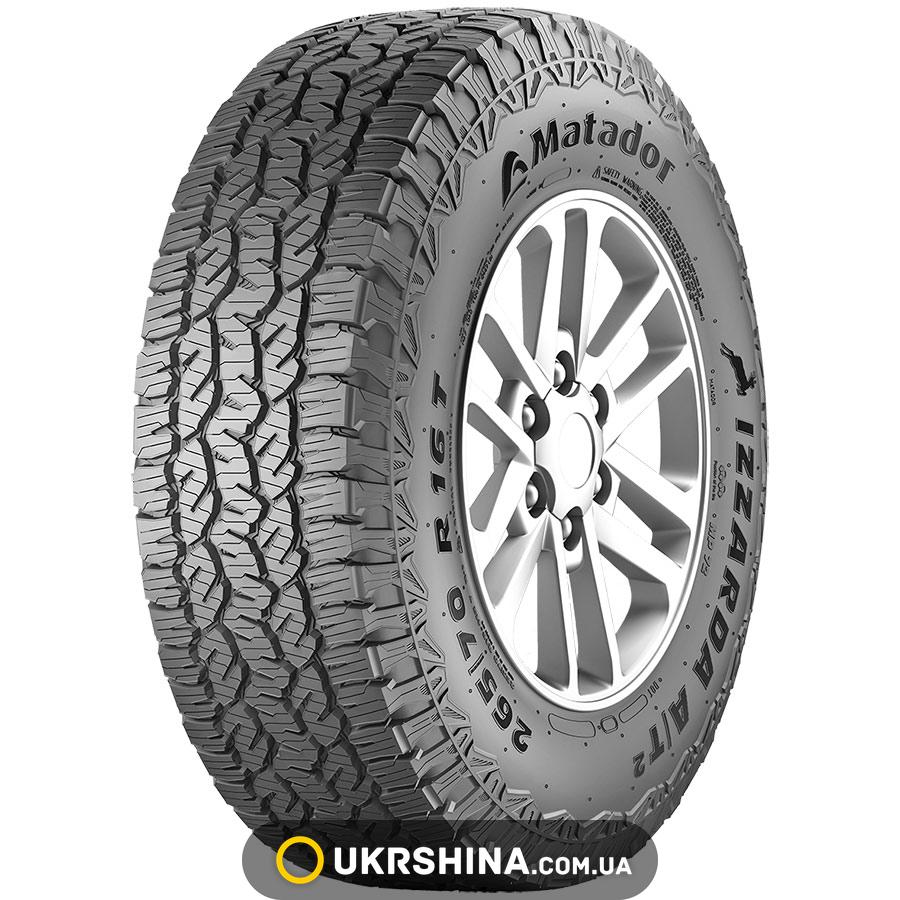 Всесезонные шины Matador MP-72 Izzarda A/T 2 235/75 R15 109T XL FR