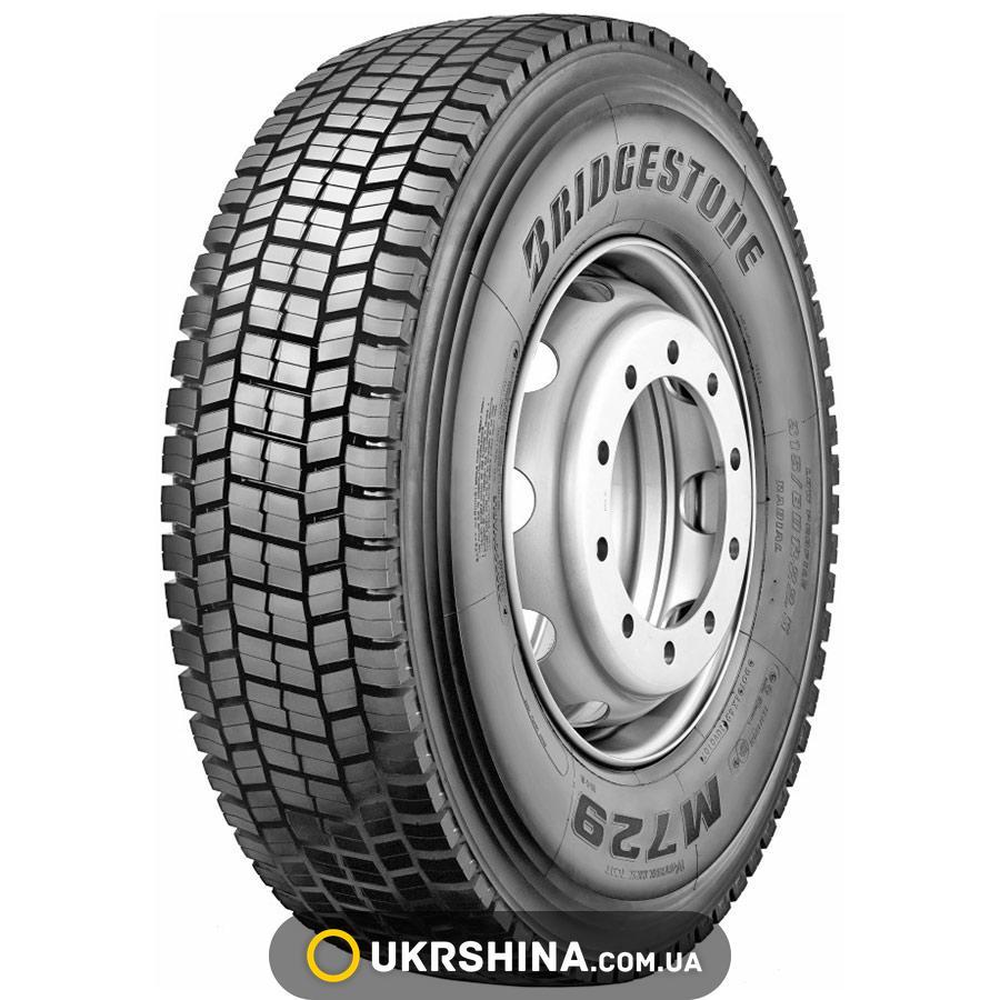 Всесезонные шины Bridgestone M729(ведущая) 245/70 R19.5 136/134M