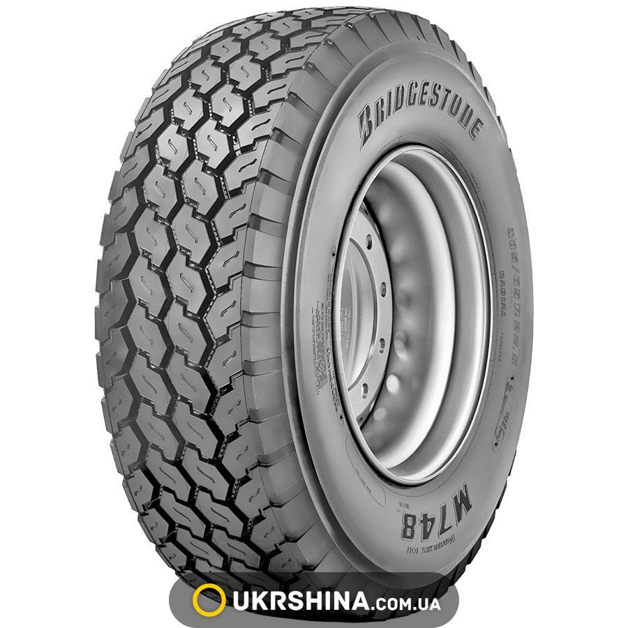 Всесезонные шины Bridgestone M748(прицепная)