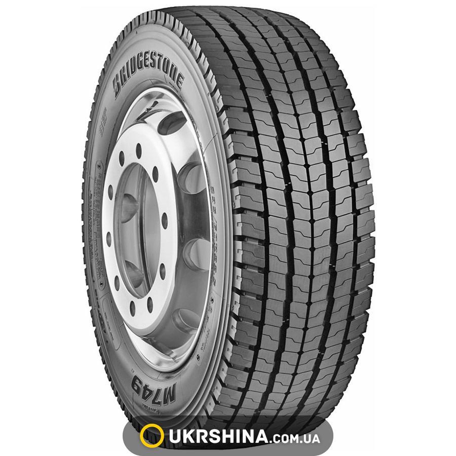Всесезонные шины Bridgestone M749(ведущая) 315/70 R22.5 152/148M