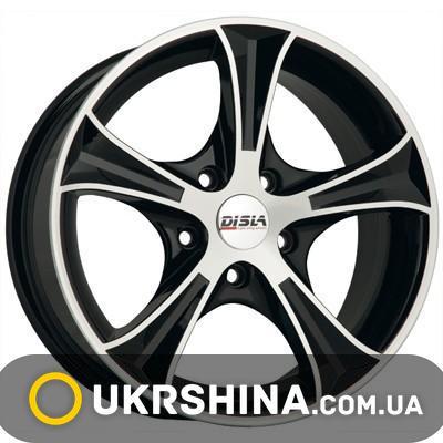 Литые диски Disla Luxury 406 W6 R14 PCD4x98 ET37 DIA67.1 SD