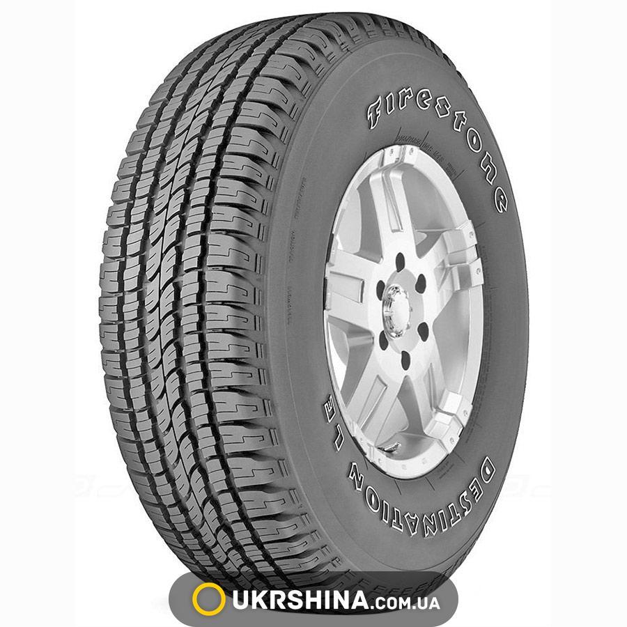 Всесезонные шины Firestone Destination LE 245/70 R16 111H XL