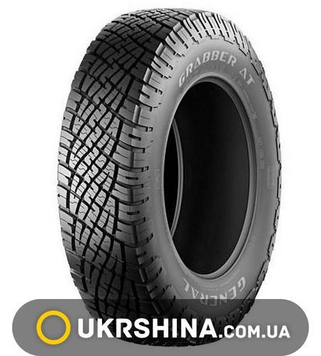 Всесезонные шины General Tire Grabber AT 255/65 R16 109T