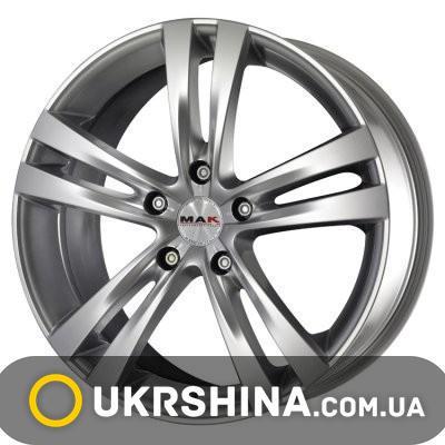 Литые диски Mak Zenith W6.5 R16 PCD5x115 ET40 DIA70.1 silver