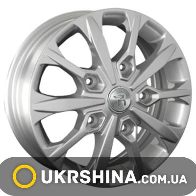 Литые диски Replay Ford (FD114) W5.5 R16 PCD5x160 ET60 DIA65.1 silver