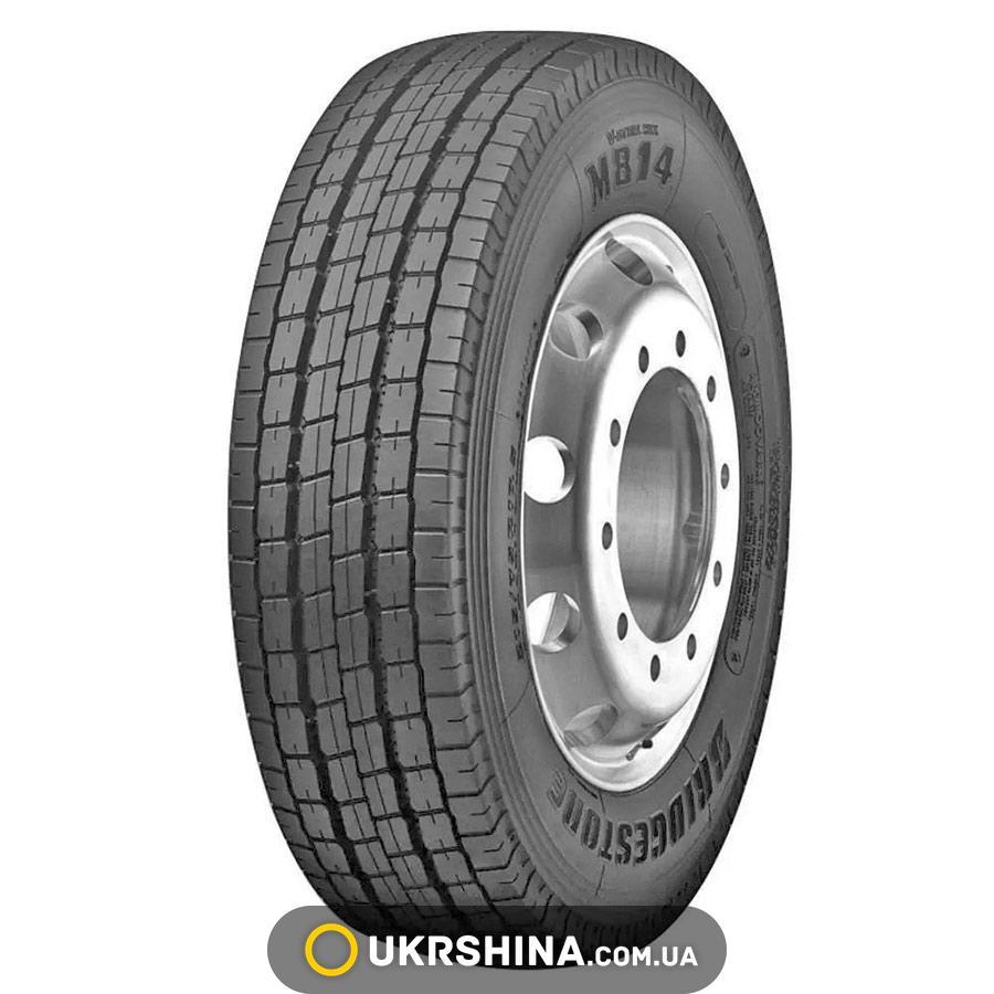Всесезонные шины Bridgestone M814(рулевая) 215/75 R17.5 126/124M