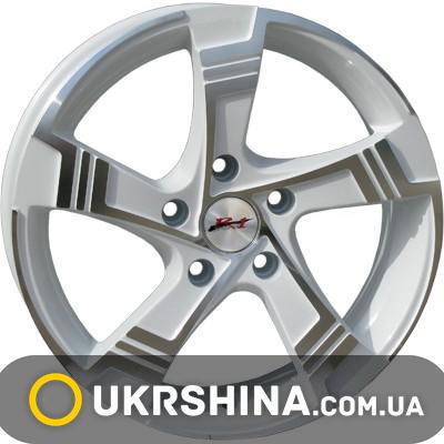 Литые диски RS Wheels 5242TL W6 R14 PCD4x108 ET38 DIA63.4 MHS