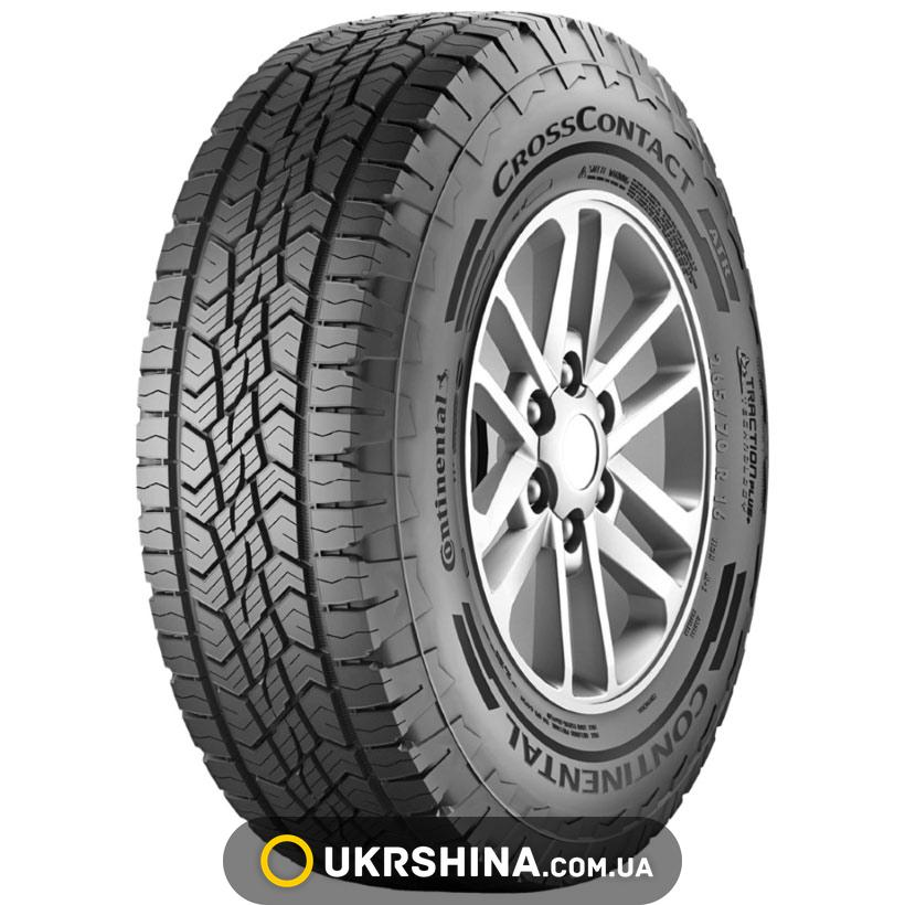 Всесезонные шины Continental CrossContact ATR 245/65 R17 111H XL FR