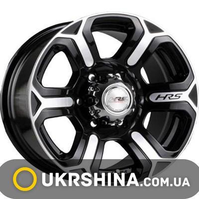 Литые диски Racing Wheels H-427 BK-F/P W8 R17 PCD6x139.7 ET20 DIA110.5