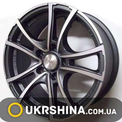 Литые диски Racing Wheels H-496 DDN-FP W7 R16 PCD5x110 ET35 DIA65.1