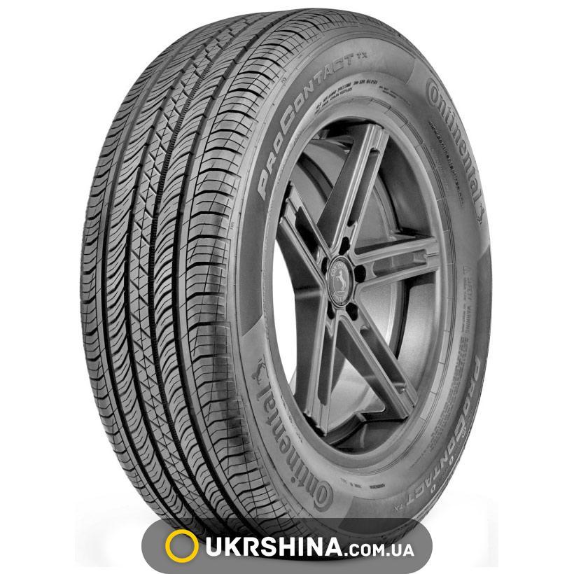 Всесезонные шины Continental ProContact TX 225/60 R18 100H