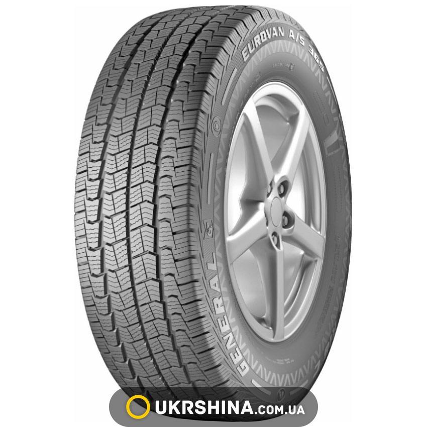 Всесезонные шины General Tire EUROVAN A/S 365 215/70 R15C 109/107S