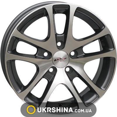 Литые диски RS Wheels 244 W6 R14 PCD5x114.3 ET35 DIA67.1 MHS