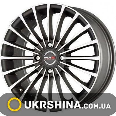 Литые диски Mak Corsa ice black W7 R17 PCD4x108 ET42 DIA63.4