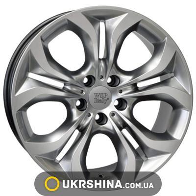 Литые диски WSP Italy BMW (W674) Aura W8.5 R18 PCD5x120 ET46 DIA74.1 hyper silver