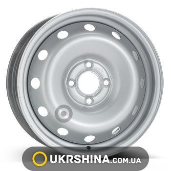 Стальные диски ALST (KFZ) 7635 W6 R15 PCD4x100 ET50 DIA60 silver