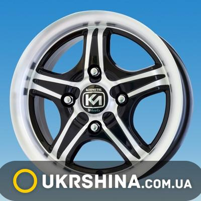 Литые диски Kormetal KM 185 W6.5 R15 PCD5x112 ET35 DIA66.6 BD