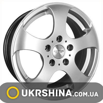 Литые диски Kyowa KR336 HP W7 R16 PCD5x100 ET40 DIA73.1