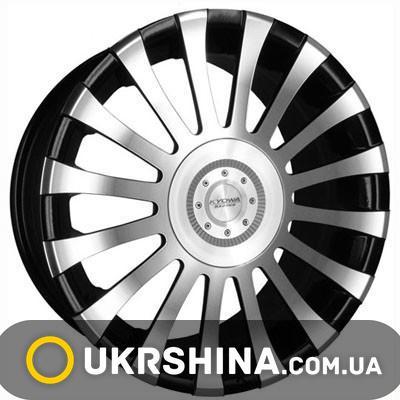 Литые диски Kyowa KR522 BKF W6.5 R15 PCD5x100 ET38 DIA66.6