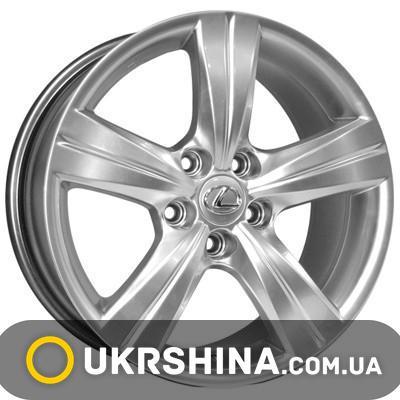 Литые диски Kyowa KR600 silver W6.5 R15 PCD5x100 ET42 DIA67.1