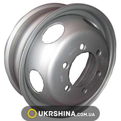 Стальные диски Кременчуг Богдан W6 R17.5 PCD6x222.25 ET125 DIA164 серый