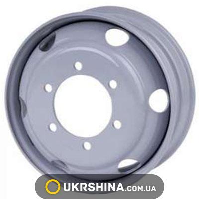 Стальные диски Кременчуг Эталон W6 R17.5 PCD6x205 ET125 DIA161.1