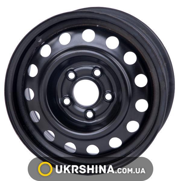 Стальные диски Кременчуг К236 (Mazda) W6 R15 PCD5x114.3 ET52.5 DIA67.1 черный