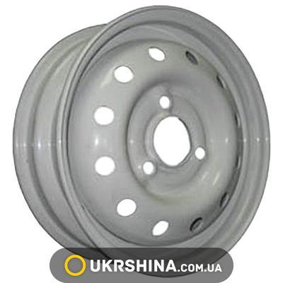 Стальные диски Кременчуг ВАЗ 1111 (Ока) W4 R12 PCD3x98 ET40 DIA60.5 белый